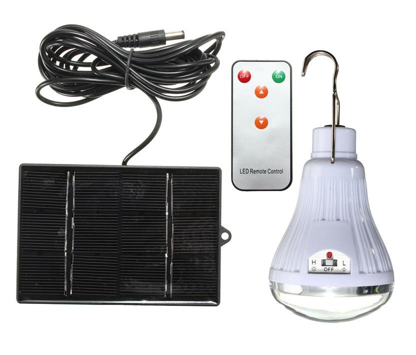 Solar 2720 Solární světelný systém 20 LED diod (Solární LED světlo s dálkovým ovladačem)