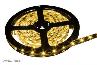 Lighting LED pásek 5050 5M/300diod 72W IP20 teplá bílá (LED pásek 5050 5 metrů)
