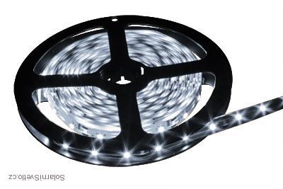 Lighting LED pásek 5630, 2,5M/150diod 30W voděodolný denní bílá (Voděodolný pásek 5630 2,5 metrů)