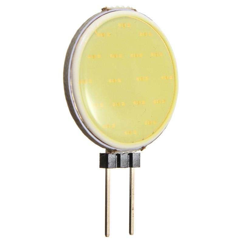 SMD Lighting LED COB žárovka G4 2.4W 12V čistá bílá (SMD Lighting LED G4 COB)