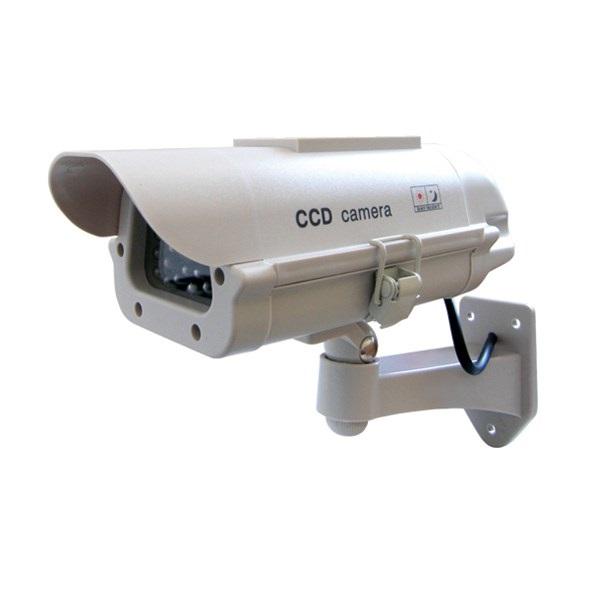 SOLAR 9009 atrapa kamery solární (Imitace bezpečnostní kamery )