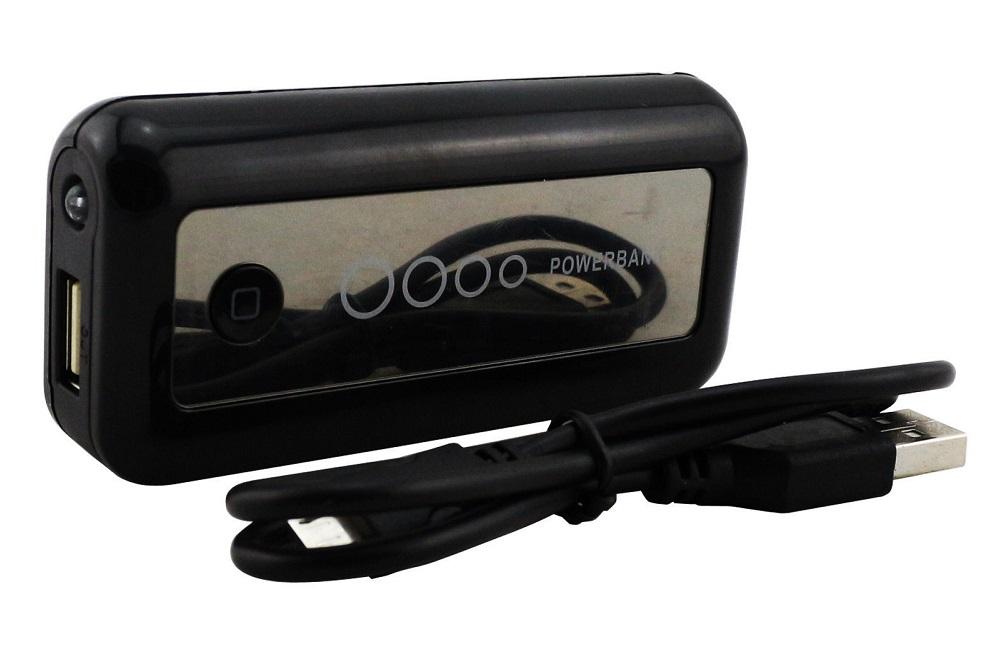 Speed PW5601 Powerbank 5 600 mAh, svítilna, černá (Záložní zdroj 5600 mAh)
