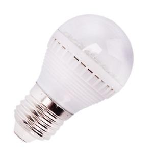 Light LED žárovka E27 3W/12V (LED žárovka s paticí E27 12V)