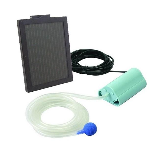 Solární provzdušňovač pro jezírka