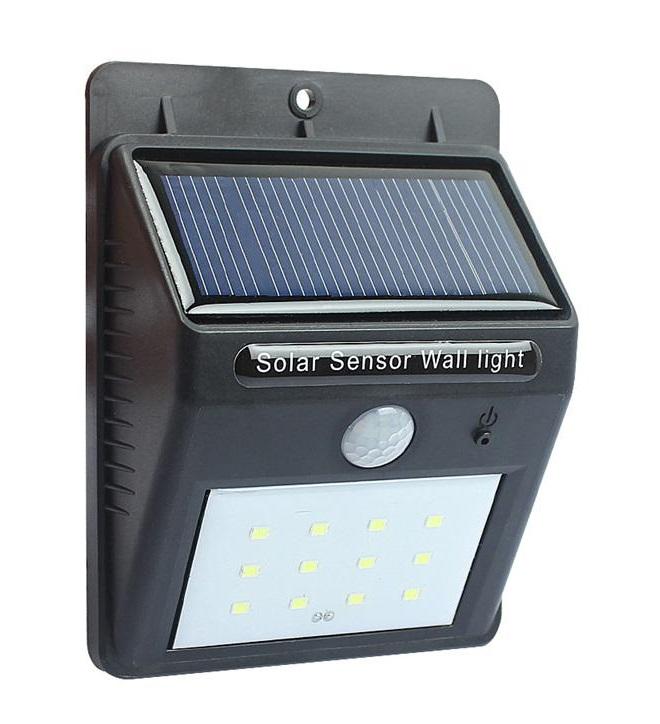 Solární LED světlo s PIR čidlem Solar 540 (Solární LED světlo s PIR čidlem pohybu)