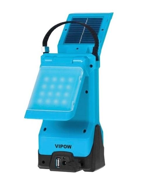 Solární kempinková LED lampa, SOLAR T16 (Solární LED světlo)