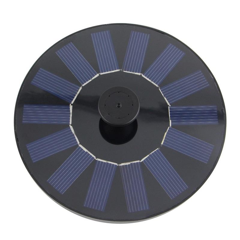 Zahradní fontána solární SOLAR 600 (Solární fontána k zahradnímu jezírku)