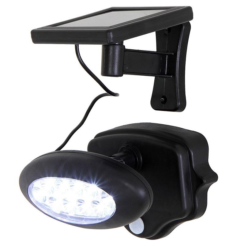Svítidlo LED - solární reflektor s PIR čidlem (Zahradní svítidlo s PIR čidlem)
