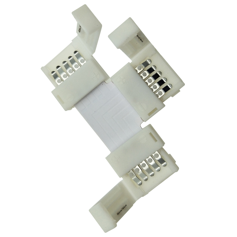 Spojka LED pásku T, RGBW - 10 mm