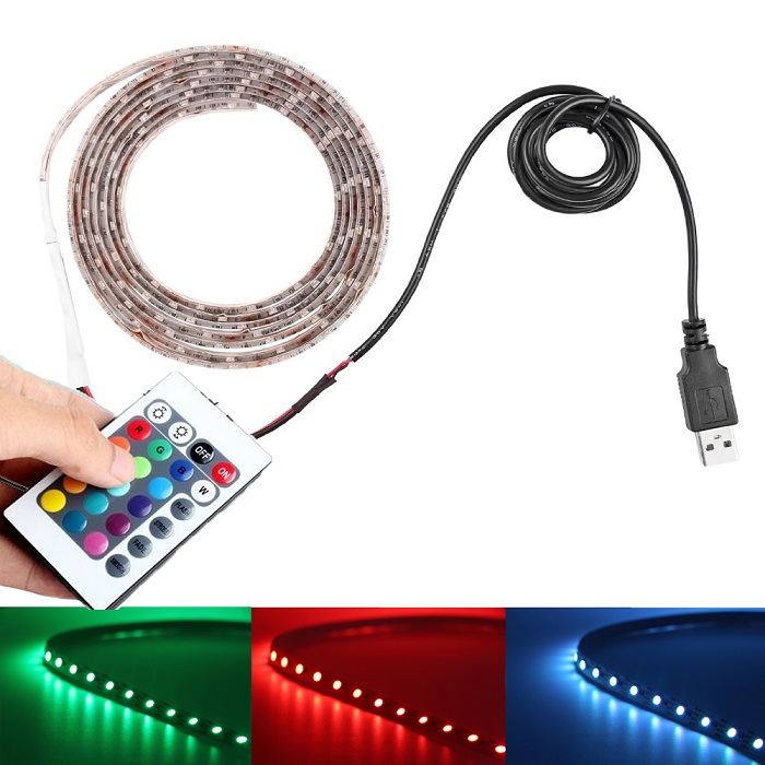 Lighting LED pásek SMD3528 RGB USB 1 m/60diod IP20