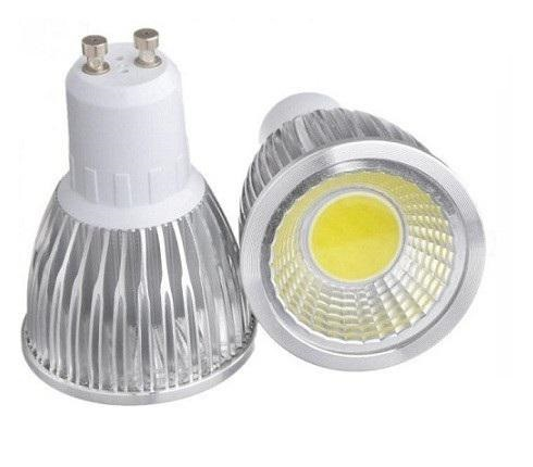 LED žárovka GU10 LED Light COB 5W Čistá bílá 5+1 zdarma (LED žárovka COB 5W - GU10 Čistá bílá)