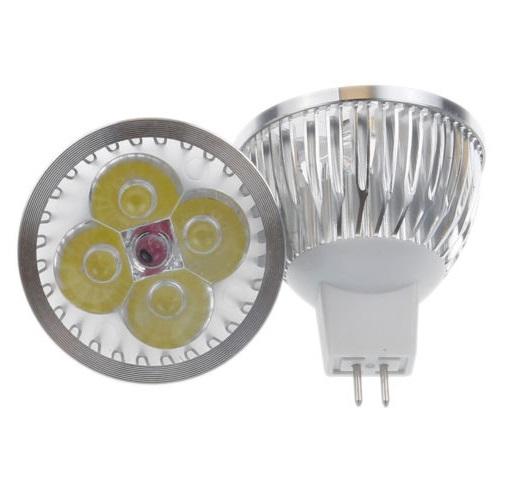 LED Light žárovka MR16 8W bílá čistá (Bodovka 12V 4x2W)