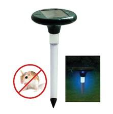 SOLAR S808 Odpuzovač krtků solární vibrační s LED lampou (Odpuzovač krtků a hrabošů solární )