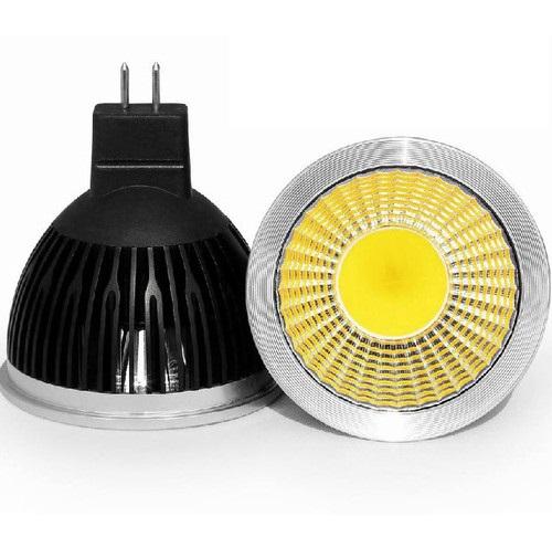 LED Light žárovka MR16 12V COB 4W Čistá bílá (LED Light žárovka COB 12V)