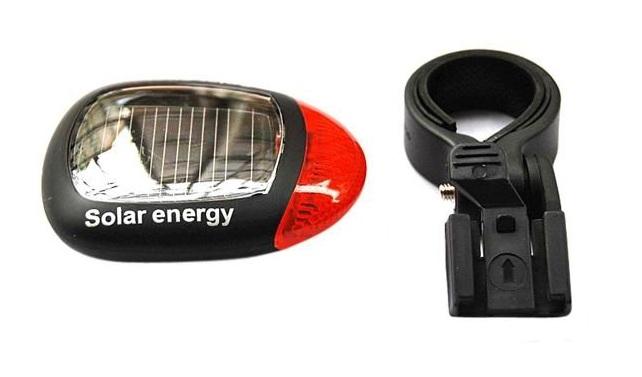 Světlo solární na kolo SOLAR (LED Solární blikač na kolo)