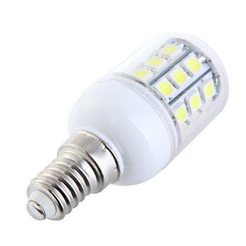 SMD Lighting LED žárovka E14 4W SMD 5050 bílá čistá (LED žárovka 30x SMD 5050 s krytem)