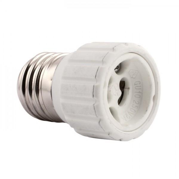 Redukce E27 na GU10 (Redukce žárovky)