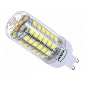 SMD Lighting LED žárovka G9 6,5W 69x SMD 5050 s krytem bílá čistá (LED žárovka G9 69x SMD 5050 s krytem)