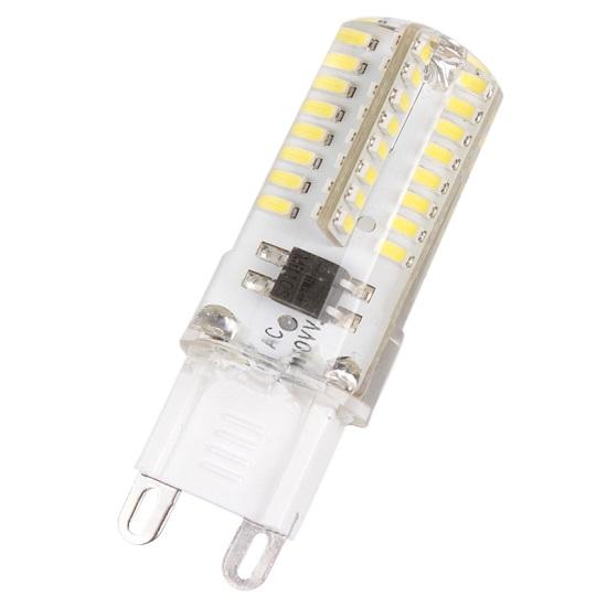 SMD Lighting LED žárovka G9 3,5W 64x SMD čistá bílá (LED žárovka G9 64x SMD 3014)