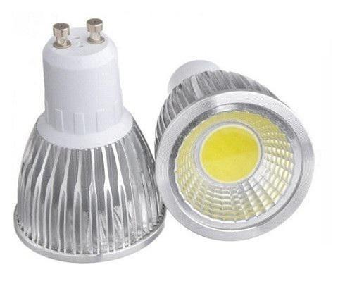 LED žárovka GU10 LED Light COB 5W Čistá bílá (LED žárovka COB 5W - GU10 Čistá bílá)