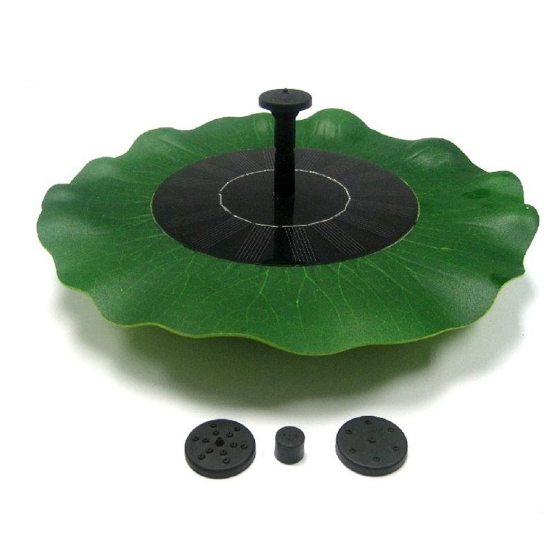 Solární plovoucí fontána SOLAR 2455 lotosový list (Solární vodotrysk k zahradnímu jezírku)